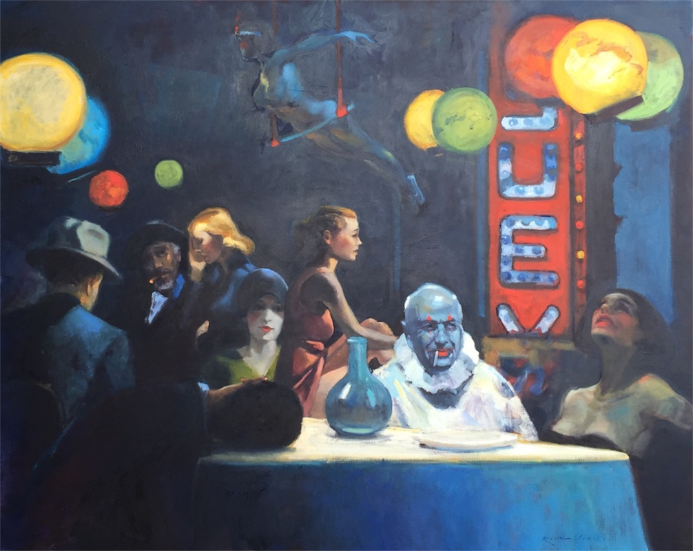 Dinner with Hopper by Keith Wicks