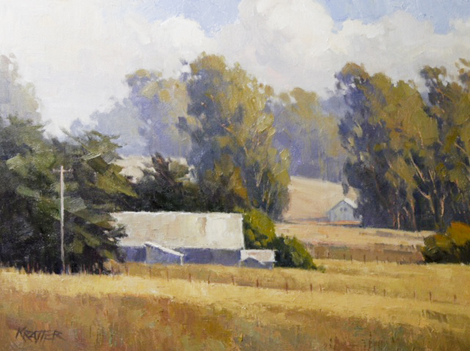 Paul Kratter Gallery Plein Air Landscape Paintings