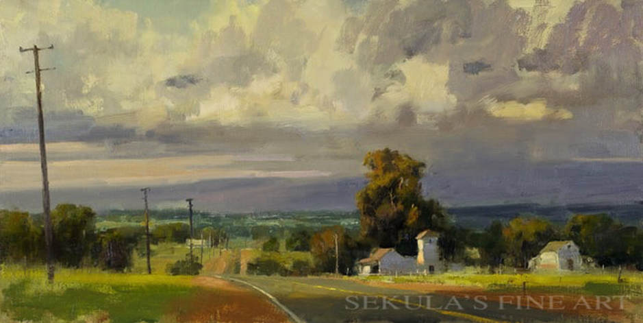 Last Days of Summer by Terry Miura at Sekula's Fine Art Gallery