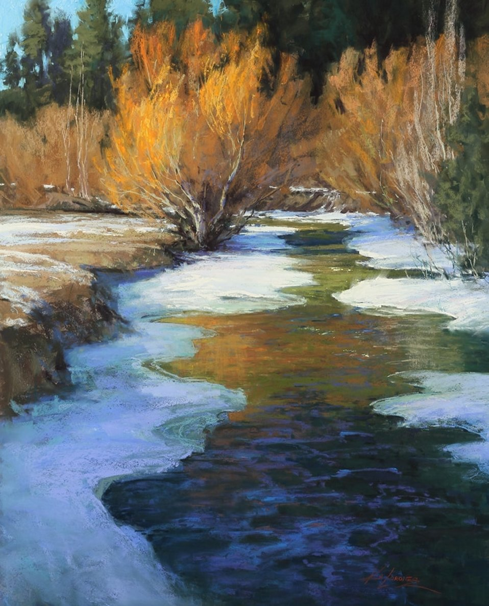 Willows on Fire by Kim Lordier