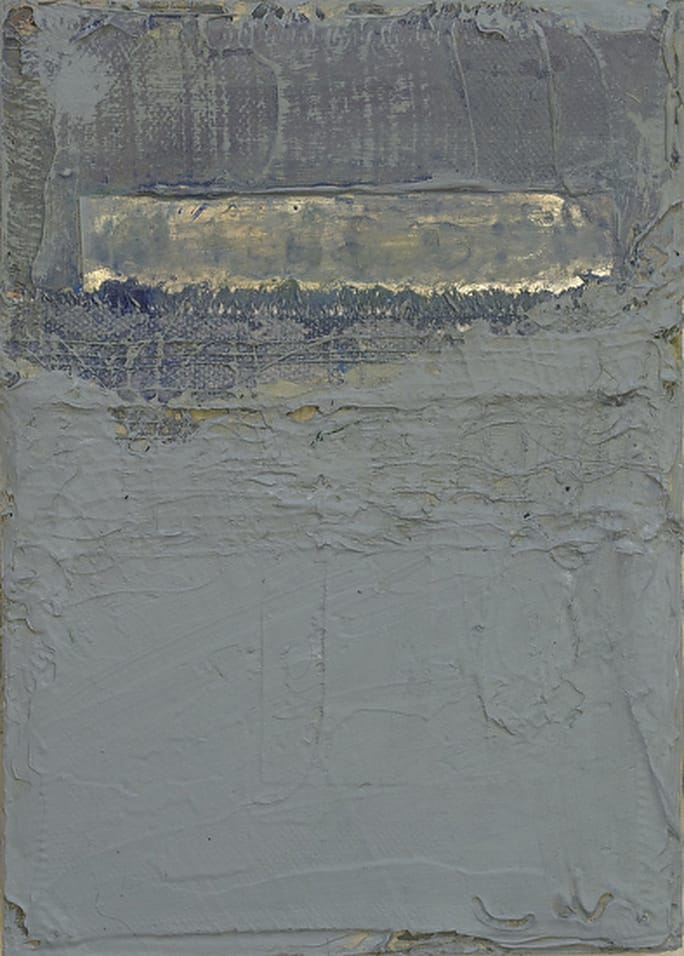 Untitled 072514, 7x5, mixed media by Nancy Crandall Phillips