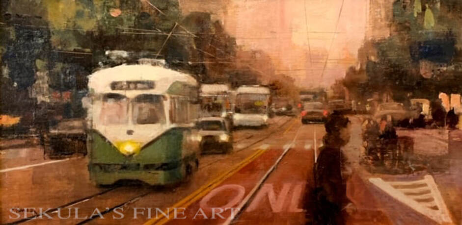 Market Street Geometry by Terry Miura at Sekulas Fine Art