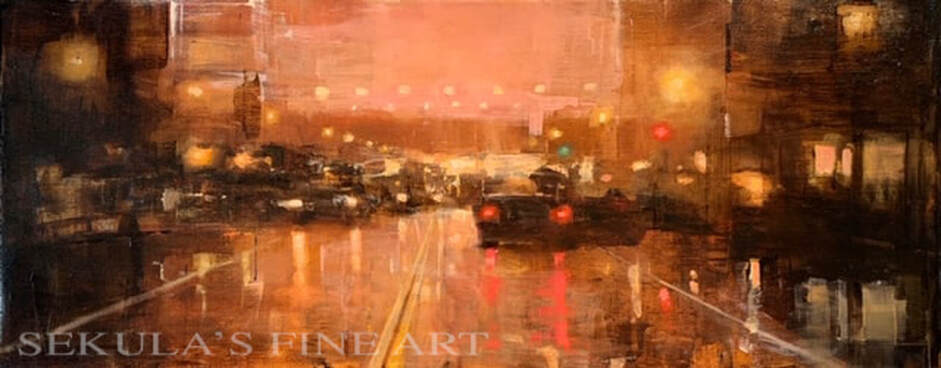 Urban Lights by Terry Miura at Sekulas Fine Art