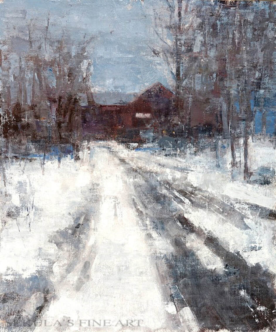 Vermont Winter by Terry Miura at Sekulas Fine Art