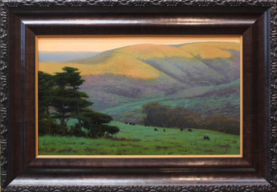 Point Reyes Light, 12 x 20 by Kevin Courter, at Sekula's Gallery