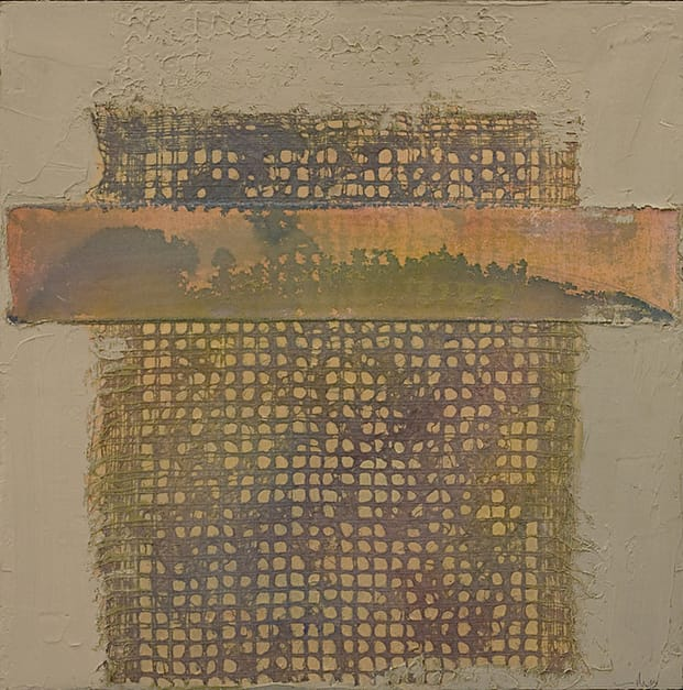 Untitled 031214, 29.5 x 29.5 x 1.75, mixed media on panel