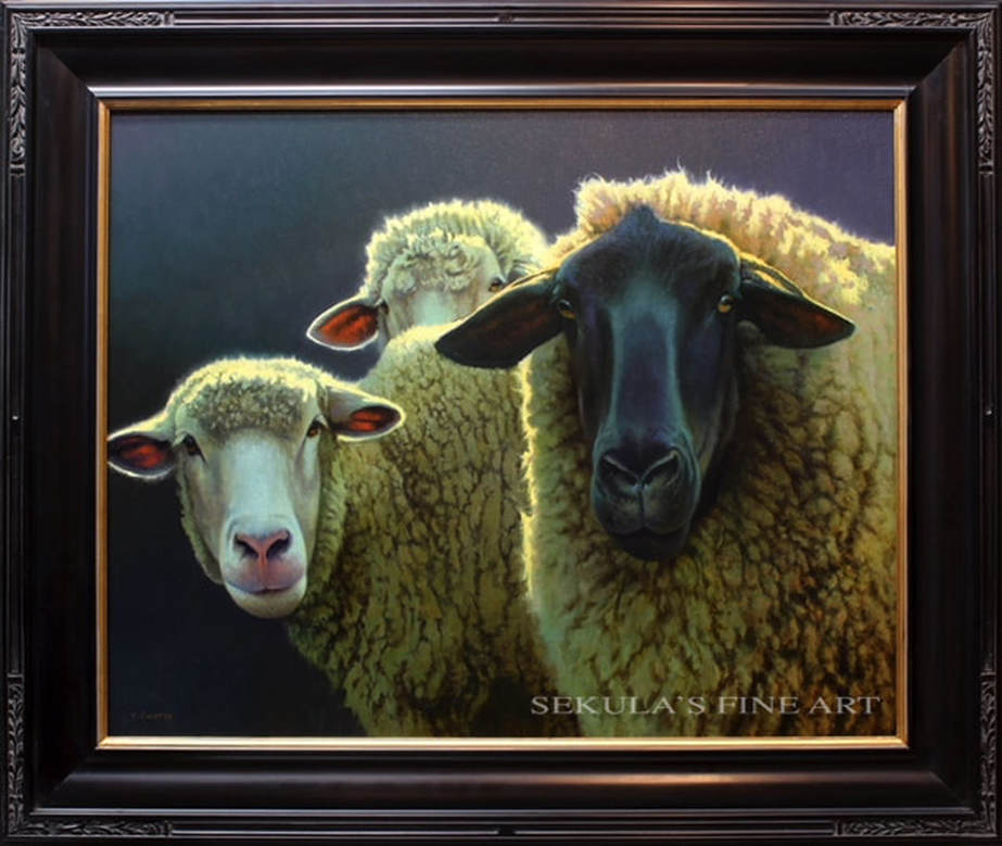 Friends by Kevin Courter at Sekula's Fine Art Gallery