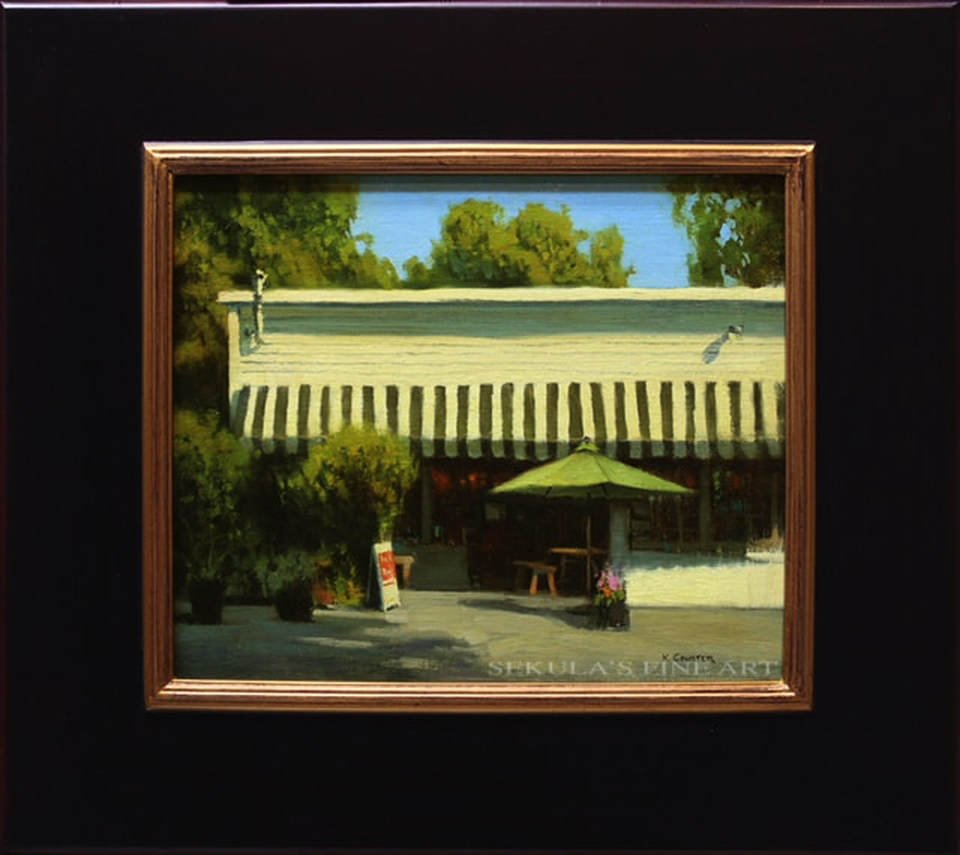 The Little Store Restaurant by Kevin Courter at Sekula's Fine Art